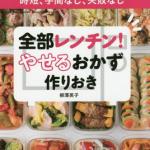 柳澤英子の食べるだけでやせるダイエットの簡単レシピ本紹介!金スマ
