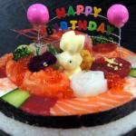 寿司ビストロ美奈吉(大和田)の寿司ケーキは通販可!ちゃちゃ入れマンデー