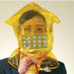 防災グッズ】防煙フード型マスクで火災に備える!通販可!たけしのニッポンのミカタ