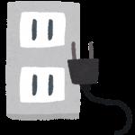 プラグ(コンセント差し替え)の整理術アイディア/ケーブルホルダーの代用